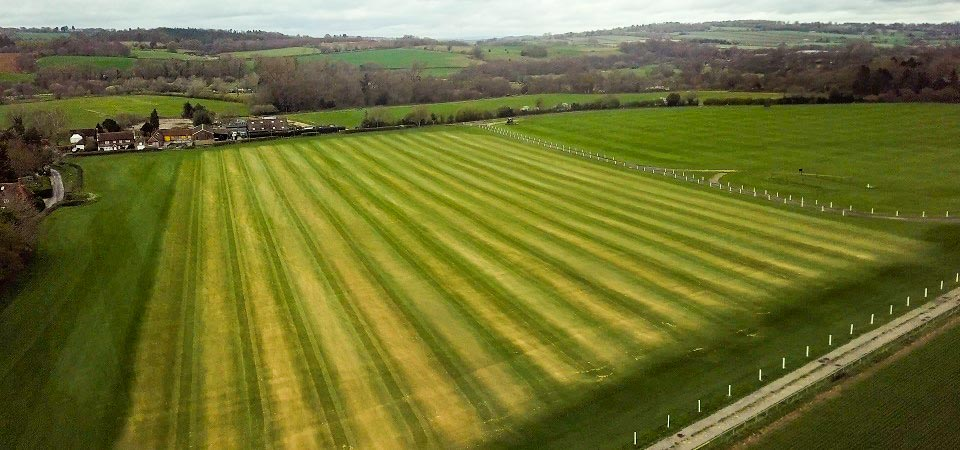 Cowdray Park Polo Pitch