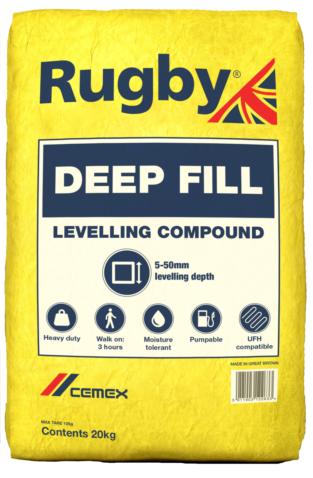 CEMEX Rugby Deep Fill Levelling Compound