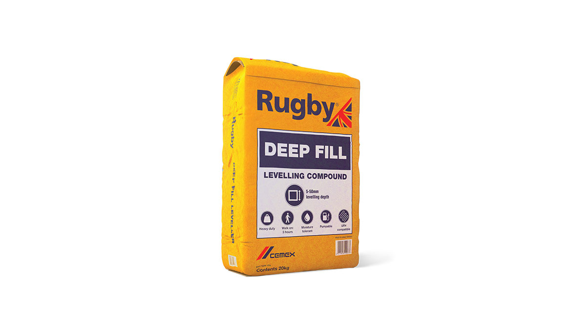 Rugby Deep Fill Levelling Compound