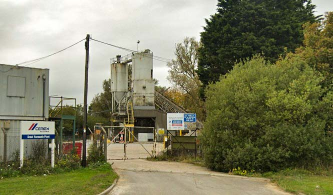 Great Yarmouth Concrete Plant
